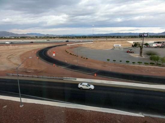 DoubleTree by Hilton Las Vegas Airport: View from room 645