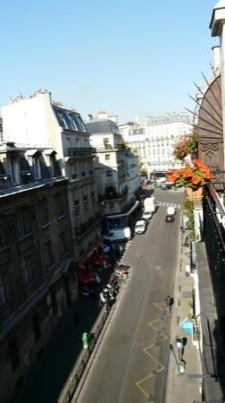 Hotel Caravelle: Вид с балкона