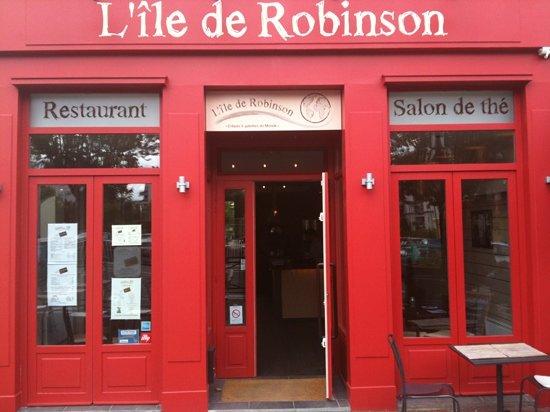 L'ile de Robinson: restaurant l'île de Robinson
