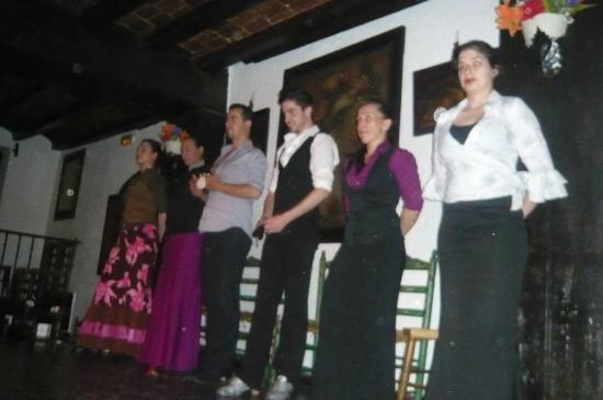 Tablao Flamenco Las correrias : The dancers