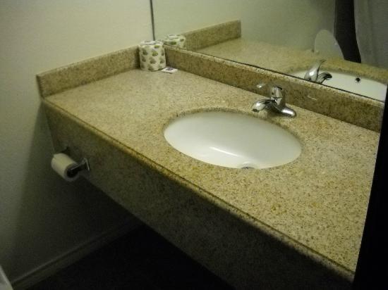 موتل 6 باسادينا تكساس: Sink