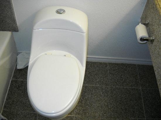 Motel 6 Pasadena: toilet