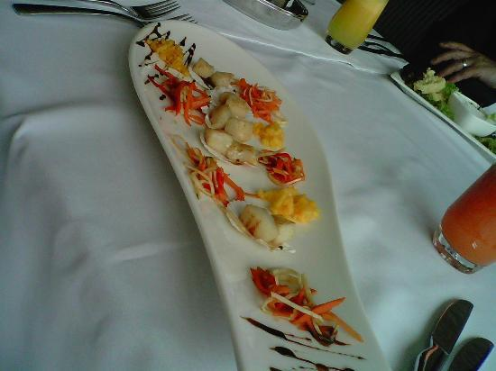 Kharkiv Palace Premier Hotel : Pacific Spoon dining