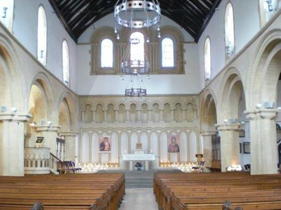 St James Priory : The Interior