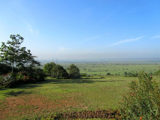 African Heritage House: View from our veranda - National Park