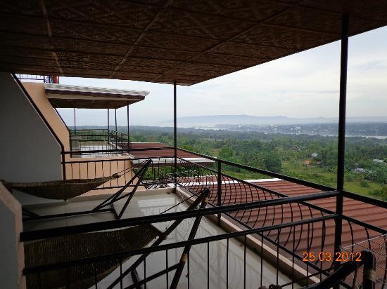Bohol Vantage Resort: Balcony