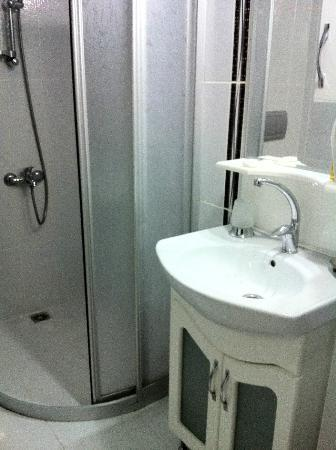 Hotel Silviya: Bathroom