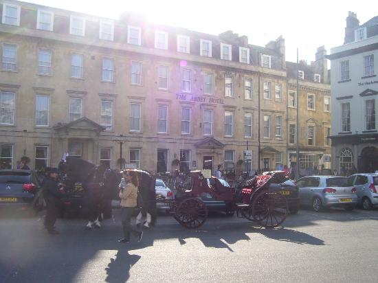 The Abbey Hotel: Hotel from outside