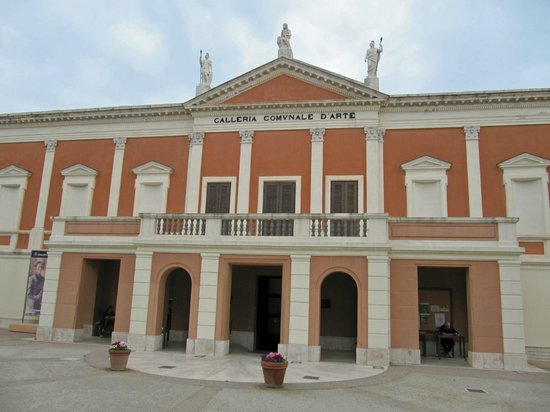 Province of Cagliari, Italy: The front of the gallery.