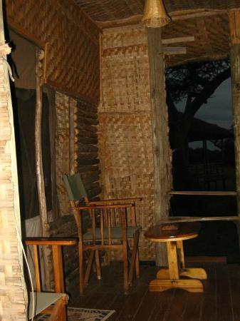 Ikoma Safari Camp: Our Balcony