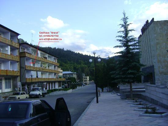 Dilijan, Armenia: Outside view