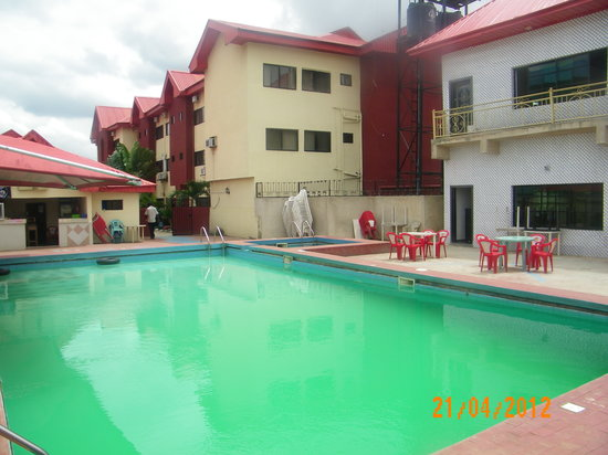 Owerri, Νιγηρία: Pool Side Resort