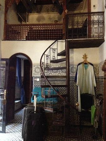 Riad Ibn Battouta: Mezzanine Bedroom