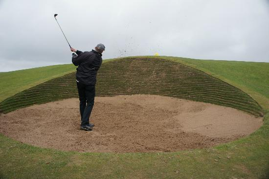 Carnoustie Golf Links: The Bunkers!!