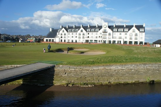 Carnoustie, UK: 18th Hole