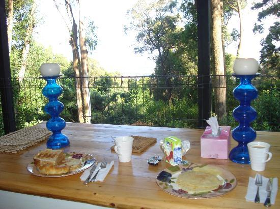 Kalorama, Australia: Our breakfast