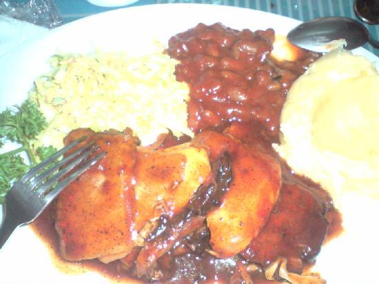 Cottage Kitchen Cafe : BBQ Pork Plate