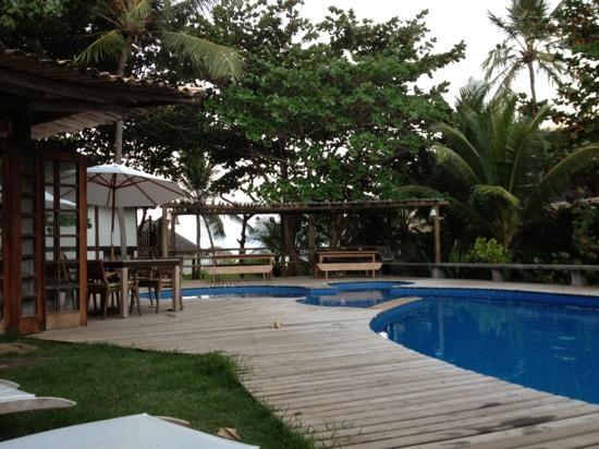 Pousada Farol das Tartarugas: pool at Pousada