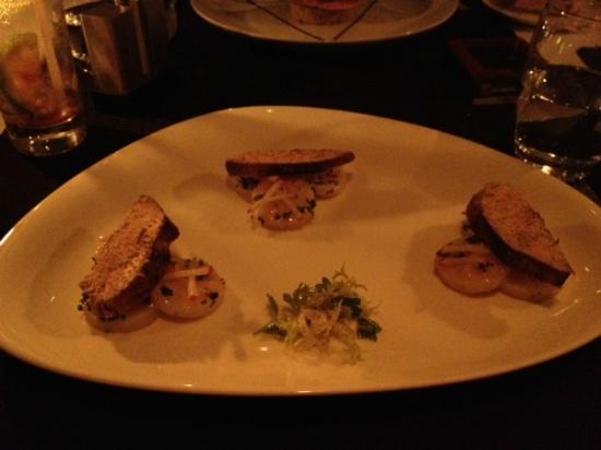 D.sens: Trilogoe de foie gras