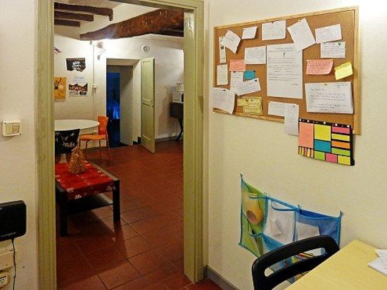 Il Nosadillo: Reception, common area