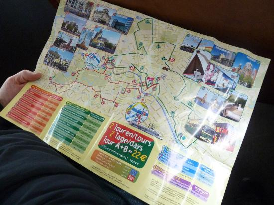 Map Picture of Berlin City Tour City Sightseeing Berlin – Berlin City Map Tourist