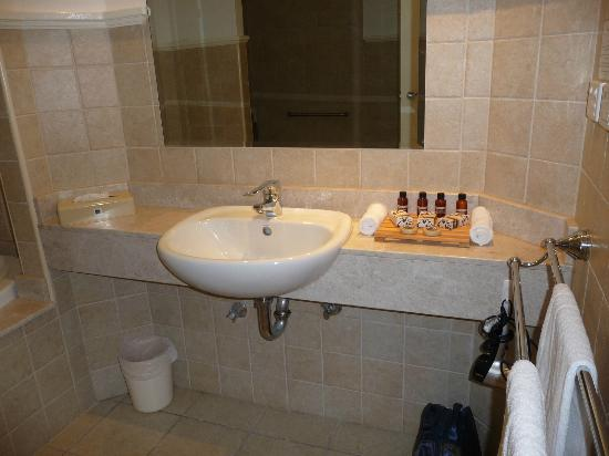 Ibis Styles River Lodge Harrington: Bathroom and Goodies