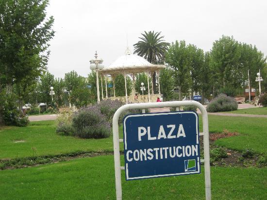Plaza Hotel: plaza constitucion, frente al hotel