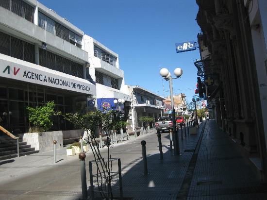 Plaza Hotel: calle del centro de la ciudad