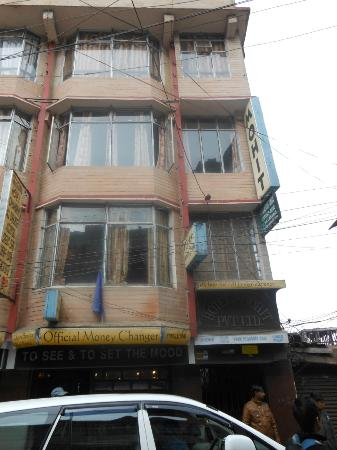 Hotel Mohit: the front of the hotel