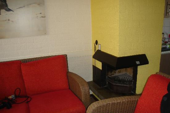 Center Parcs Park Zandvoort: Coin salon feu ouvert VIP 4 personnes