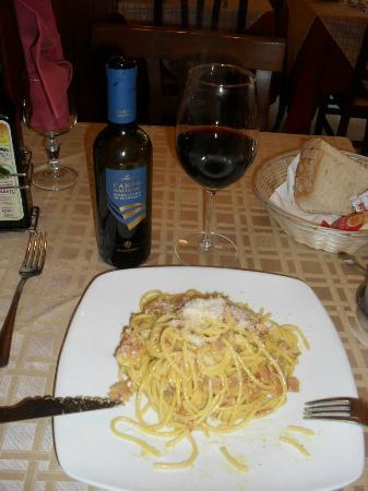 Elettra: Spaghetti a Carbonara