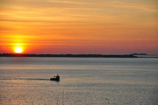 Scandic Parken: Sunset