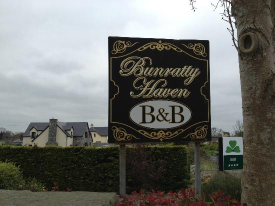 Bunratty Haven Bed and Breakfast: Bunratty B&B