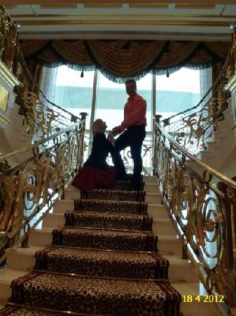 Burj Al Arab Jumeirah: ROYAL SUITE IN BURJ AL ARAB WITH MY VERY HAPPY BEAUTIFUL WIFE.