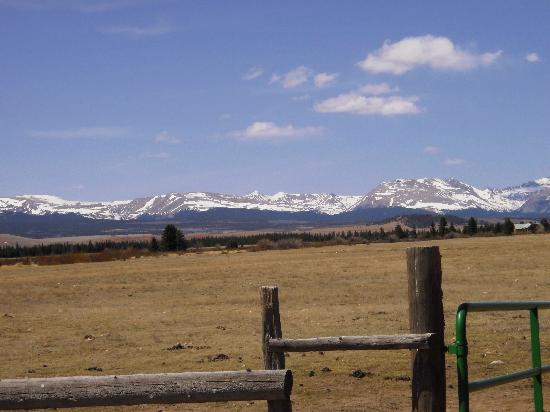 Platte Ranch Riding Stables: View from stable