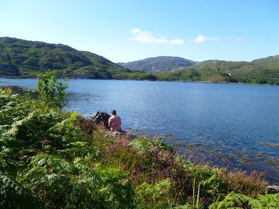 The Lochailort Inn: Het Loch van Lochailort