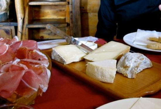 Ristorante Notre Maison: Cheeses