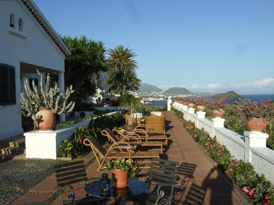 Casa Rural Malpais Trece: Sea View Terrace