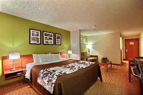 Sleep Inn & Suites: King Suite