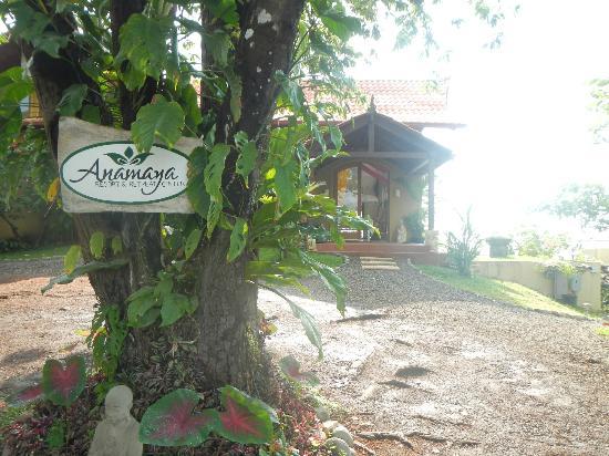 Anamaya Resort & Retreat Center: walk up to the main casita