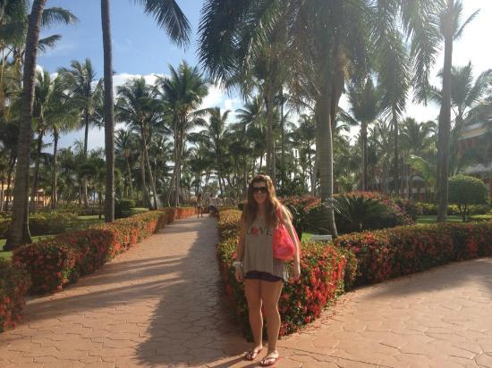 Iberostar Dominicana Hotel: yendo a desayunar