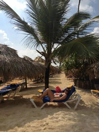 Iberostar Dominicana Hotel: tomando el sol