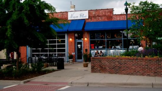 Outside Never Blue Restaurant In Hendersonville Nc Picture