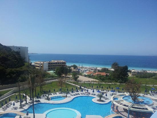 Atrium Platinum Hotel: view from Balcony