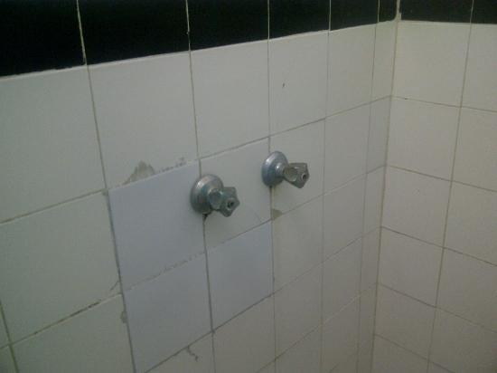 Golden Thistle Hotel: 3 X3 BATHROOM