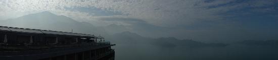 Fleur de Chine Hotel Sun Moon Lake : Goregeous view from the rooftop bar/restaurant