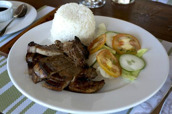 Buri Resort & Spa: Grilled Pork Chop