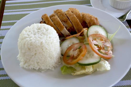 Buri Resort & Spa: Chicken Cordon Bleu