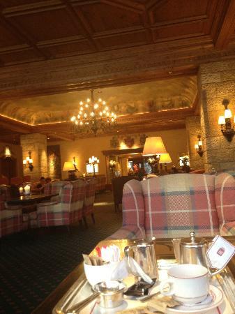 Gstaad Palace Hotel: Lobby