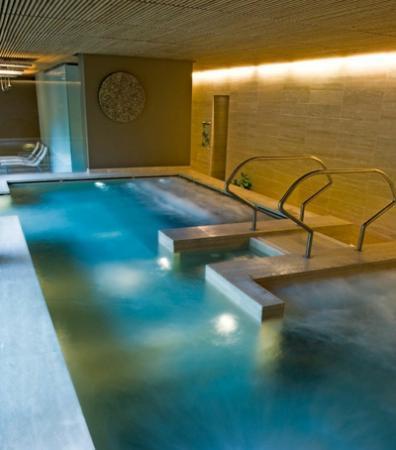 Chianciano Terme, Italia: La vasca relax interna
